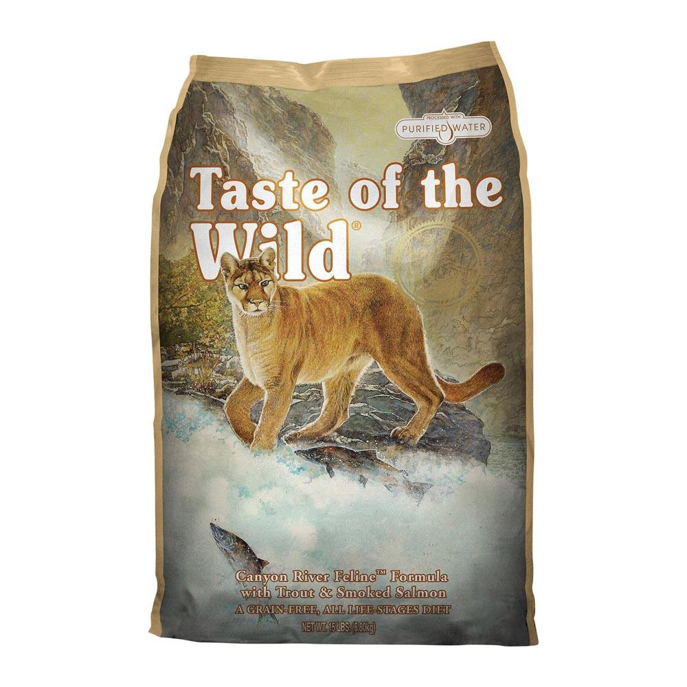 Taste of the Wild Dry Cat Food Canyon River Delivery in Malaysia