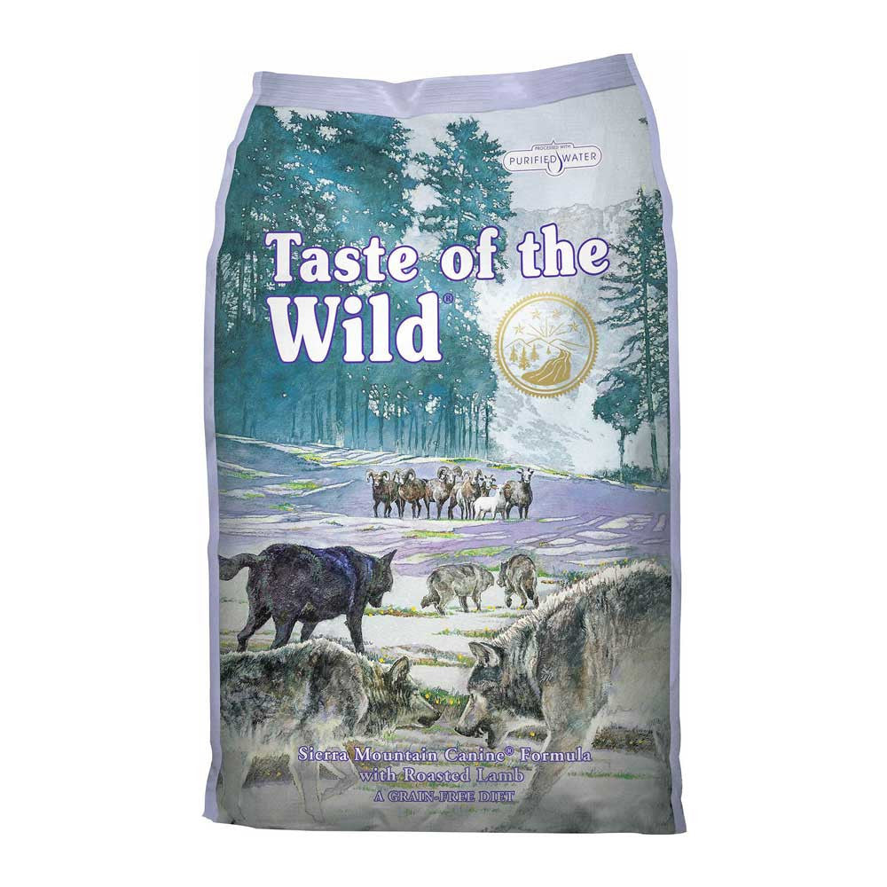 Taste of the Wild Sierra Mountain Lamb Dog Food Delivery in Malaysia