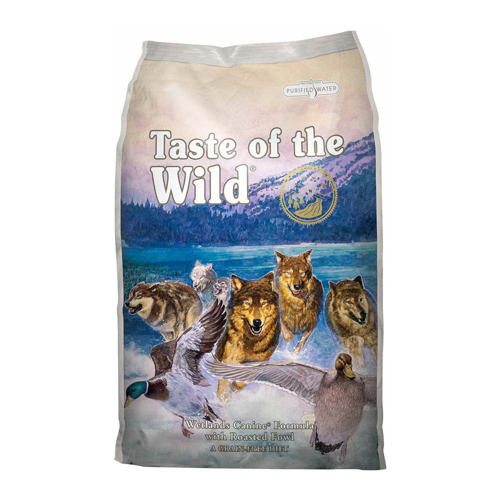 Taste of the Wild Wetland Wild Fowl Dog Food Delivery in Malaysia