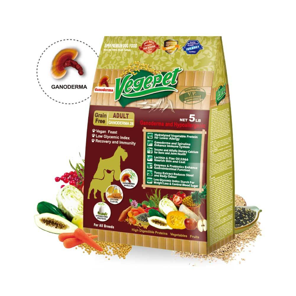 Vegepet Ganoderma Grain Free Dog Food Delivery In Malaysia