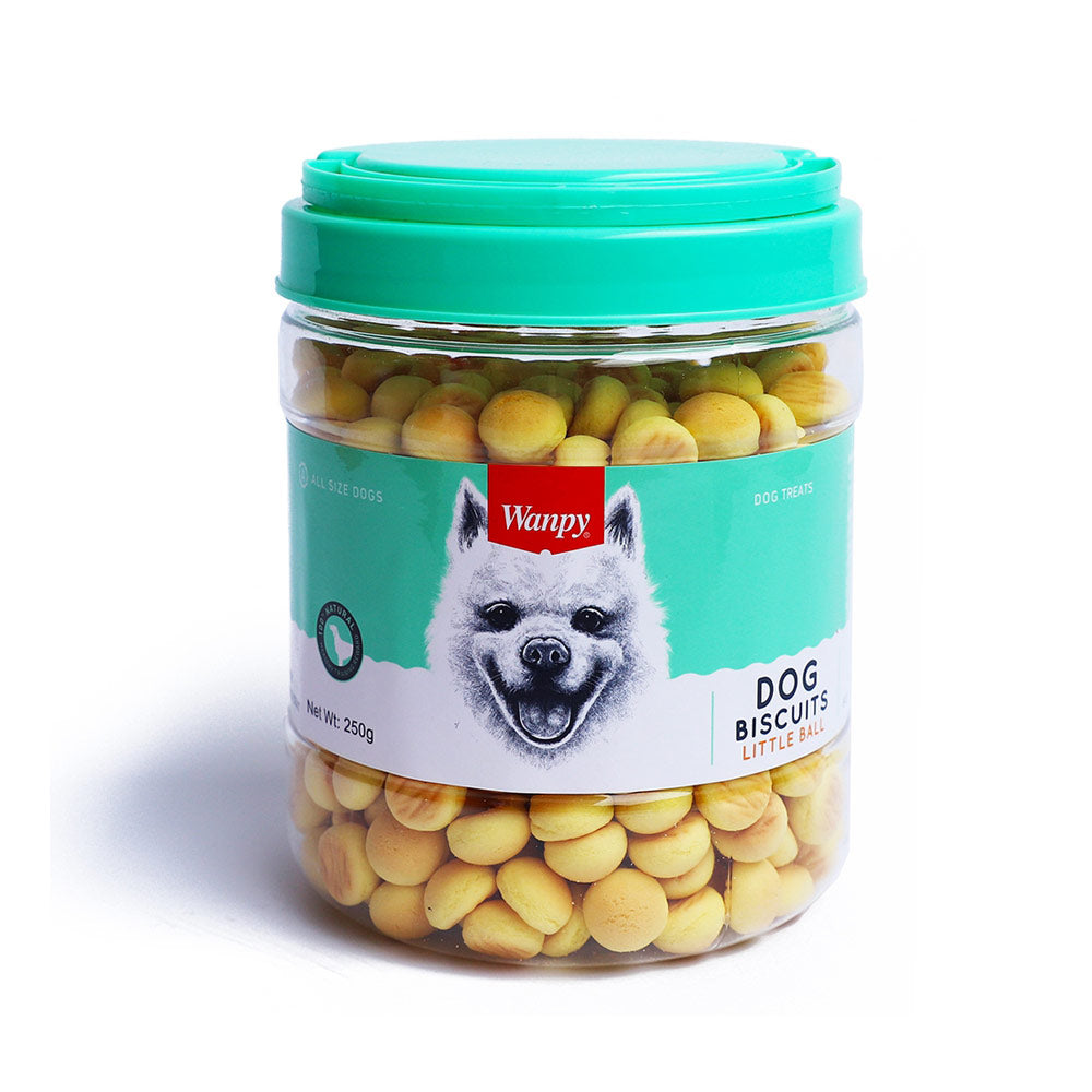Wanpy Little Ball Dog Biscuits