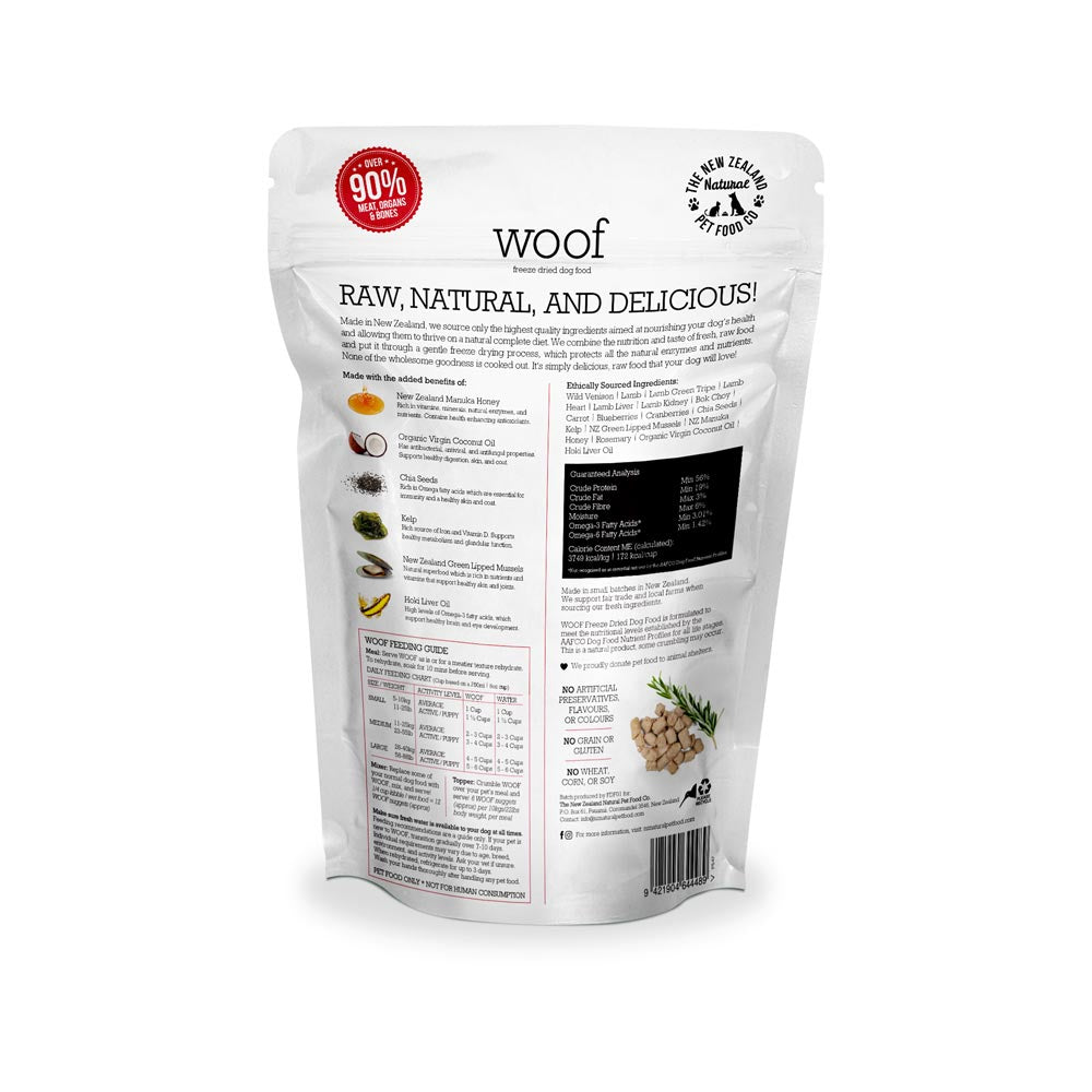 Freeze Dried Venison (GF)