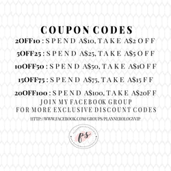 Plannerologystudio Coupon Discount Codes! (DO NOT PURCHASE) - Plannerologystudio