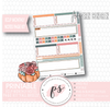 Fall Breeze Monthly Notes Page Kit Digital Printable Planner Stickers (for use with Erin Condren) - Plannerologystudio