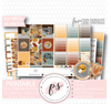 Be Thankful (Thanksgiving) Full Weekly Kit Printable Planner Digital Stickers (for use with Erin Condren Vertical)