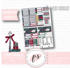 Holly Christmas December 2019 Monthly View Kit Digital Printable Planner Stickers (for use with Erin Condren)