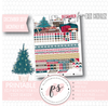 Cozy Season (Christmas) December 2019 Monthly View Kit Digital Printable Planner Stickers (for use with Erin Condren) - Plannerologystudio