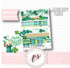 Shamrock St Patrick's Day March 2020 Monthly View Kit Digital Printable Planner Stickers (for use with Classic Happy Planner) - Plannerologystudio