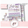 Lavender March 2020 Monthly View Kit Digital Printable Planner Stickers (for use with Classic Happy Planner) - Plannerologystudio