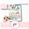 Spring Love March 2020 Monthly View Kit Digital Printable Planner Stickers (for use with Erin Condren) - Plannerologystudio