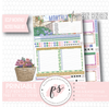 Hello Spring Monthly Notes Page Kit Digital Printable Planner Stickers (for use with ECLP) - Plannerologystudio