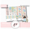 Easter Wishes Full Weekly Kit Printable Planner Digital Stickers (for use with Erin Condren Vertical - Plannerologystudio