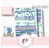 Bloom March 2020 Monthly View Kit Digital Printable Planner Stickers (for use with Erin Condren) - Plannerologystudio