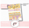 Honey April 2020 Monthly View Kit Digital Printable Planner Stickers (for use with Classic Happy Planner) - Plannerologystudio