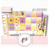 Honey Full Weekly Kit Printable Planner Digital Stickers (for use with Erin Condren Vertical) - Plannerologystudio