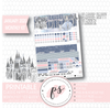 Ice Queen January 2020 Monthly View Kit Digital Printable Planner Stickers (for use with Classic Happy Planner) - Plannerologystudio