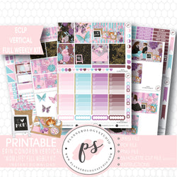 Mom Life (Mother's Day) Full Weekly Kit Printable Planner Stickers (for use with ECLP Vertical) - Plannerologystudio