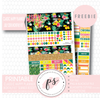Summer Resort Classic Happy Planner July 2018 Monthly Kit Digital Printable Planner Stickers (PDF/JPG/PNG/Silhouette Cut File Freebie) - Plannerologystudio