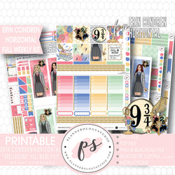 Spellbound (Harry Potter) Full Weekly Kit Printable Planner Stickers (for use with ECLP Horizontal) - Plannerologystudio