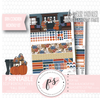 Fall Dusk Monthly View Kit Digital Printable Planner Stickers (for use with Erin Condren) (Undated and Monday Start) - Plannerologystudio