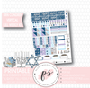 Alight Hanukkah Full Weekly Kit Printable Planner Stickers (for use with Erin Condren Vertical) - Plannerologystudio