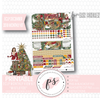 Mistletoe Christmas December 2018 Monthly View Kit Digital Printable Planner Stickers (for use with Erin Condren) - Plannerologystudio