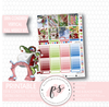 Christmas in Whoville (Grinch) Full Weekly Kit Printable Planner Stickers (for use with Erin Condren Vertical) - Plannerologystudio