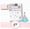 Magical Winter Full Weekly Kit Printable Planner Stickers (for use with Erin Condren Vertical) - Plannerologystudio