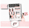 New Year Full Weekly Kit Printable Planner Stickers (for use with Erin Condren Vertical)