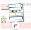 Swan Moon Monthly Notes Page Kit Digital Printable Planner Stickers (for use with Erin Condren) - Plannerologystudio
