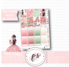 Love Blooms (Valentine's Day) Full Weekly Kit Printable Planner Stickers (for use with Erin Condren Vertical) - Plannerologystudio
