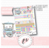 Sugar & Spice February 2019 Monthly View Kit Digital Printable Planner Stickers (for use with Classic Happy Planner) - Plannerologystudio