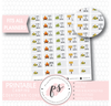 Camping Countdown Planner Icons Digital Printable Planner Stickers - Plannerologystudio