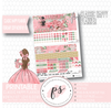 Love Blooms Valentine's Day February 2019 Monthly View Kit Digital Printable Planner Stickers (for use with Classic Happy Planner) - Plannerologystudio