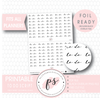 To Do Script Digital Printable Planner Stickers (Foil Ready)
