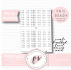 Various Meals (Meals, Breakfast, Lunch, Dinner, Snack) Script Digital Printable Planner Stickers (Foil Ready)