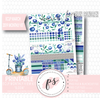 Bloom Again March 2019 Monthly View Kit Digital Printable Planner Stickers (for use with Erin Condren) - Plannerologystudio