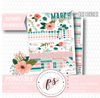 Spring Love March 2019 Monthly View Kit Digital Printable Planner Stickers (for use with Erin Condren)