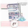 Magical Winter Undated Monthly View Kit (All Months) Digital Printable Planner Stickers (for use with Erin Condren)
