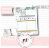 Lucky Charm (St. Patrick's Day) Monthly Notes Page Kit Digital Printable Planner Stickers (for use with Erin Condren) - Plannerologystudio