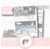 Moonlight Bunnies April Easter 2019 Monthly View Kit Digital Printable Planner Stickers (for use with Erin Condren)