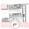 Moonlight Bunnies April Easter 2019 Monthly View Kit Digital Printable Planner Stickers (for use with Classic Happy Planner)