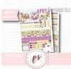 Blooming Easter April 2019 Monthly View Kit Digital Printable Planner Stickers (for use with Carrie Elle Planner) - Plannerologystudio