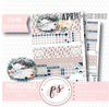 Fleur Easter April 2019 Monthly View Kit Digital Printable Planner Stickers (for use with Erin Condren) - Plannerologystudio