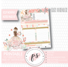Easter Bloom Monthly Notes Page Kit Digital Printable Planner Stickers (for use with Erin Condren) - Plannerologystudio