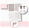 Coffee & Tea Icons Digital Printable Planner Stickers - Plannerologystudio