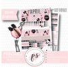 Miss Easter April 2019 Monthly View Kit Digital Printable Planner Stickers (for use with Erin Condren) - Plannerologystudio