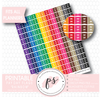 Rainbow Pay Day Flags Printable Planner Stickers - Plannerologystudio