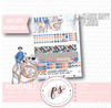 May the Force (Star Wars) May 2019 Monthly View Kit Digital Printable Planner Stickers (for use with Classic Happy Planner)