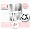 Various Harry Potter Inspired Icon Digital Printable Hobonichi Weeks Planner Stickers (Foil Ready)